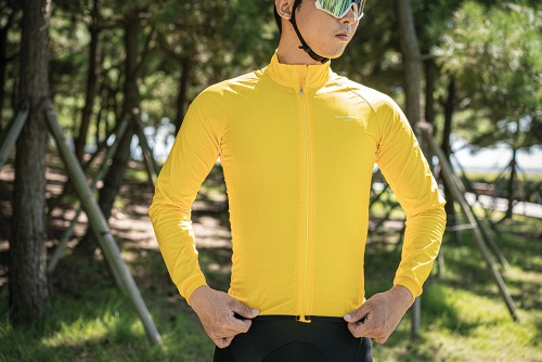 [WSL-008] breath 3layer windbreaker Yellow