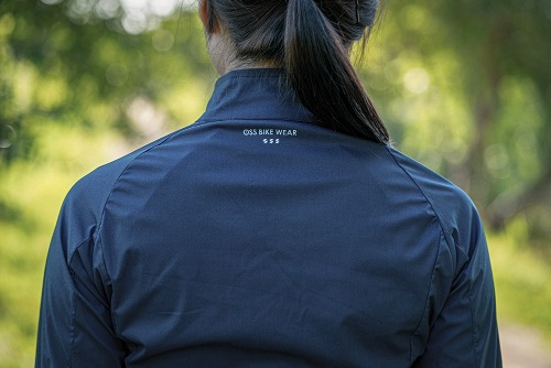 [WSL-011] breath 3layer windbreaker Dark navy